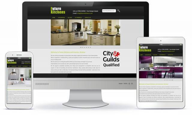 Future Kitchens website screenshot