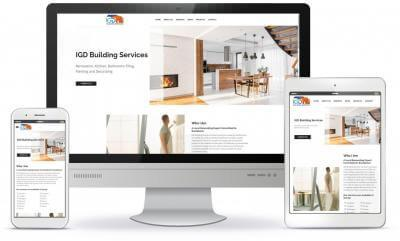 IGD Building Services website screenshot